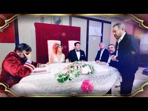 Beyaz Ve Büşra Pekin Nikah Masasına Oturdu!