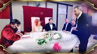 Beyaz ve Büşra Pekin nikah masasına oturdu