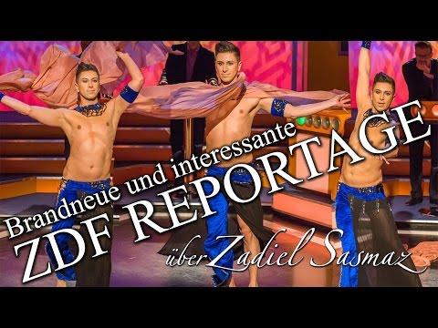 ZDF 'Bauchtanz mal Mnnlich' Reportage ber den Bauchtnzer Zadiel Sasmaz feat. Rachid Alexander