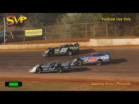 RacersEdge Tv | 411 Motor Speedway | Frostbuster40 | Super Late Models | Feb  25 , 2017