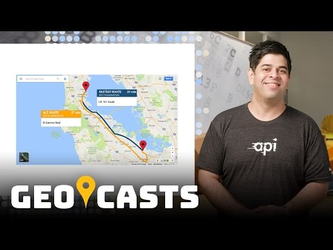 Orchestrate Google Maps - Geocasts