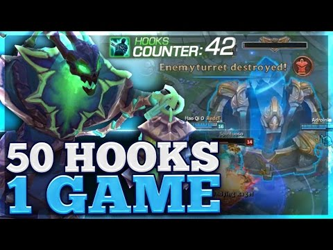 HARDEST CHALLENGE EVER | SO MANY HOOKS | CARRY THRESH SUPPORT | BunnyFuFuu