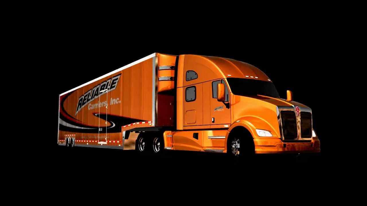 reliable carriers 3d truck video youtube. Black Bedroom Furniture Sets. Home Design Ideas