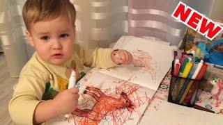 РАЗВИВАЮЩИЕ ЗАНЯТИЯ в 2 года / Чем занять ребёнка