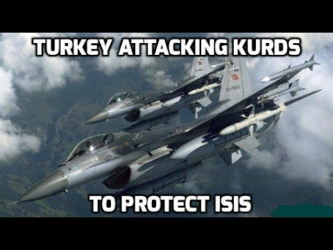 BREAKING NATO Turkey prepares to attack USA LED Syrian Kurds fighting Islamic State June 18 2017