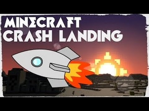 STILL NO FLINT | Minecraft Crash Landing