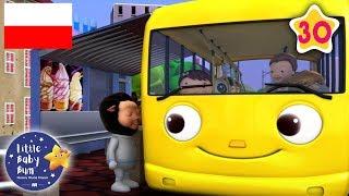 Koła w autobusie | Zestaw 30 minut piosenek dla dzieci | Little Baby Bum Po Polsku