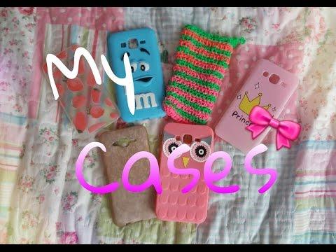 Мои чехлы для телефона// My cases for phone. Samsung J5
