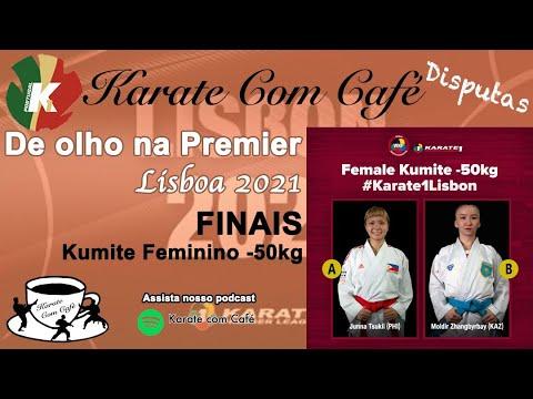 FINAL FEMALE KUMITE -50KG - WKF Premier League Lisbon 2021