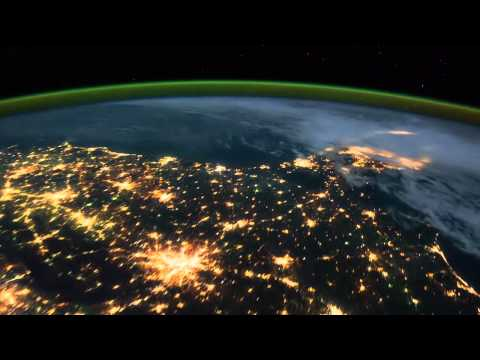 Удивительный вид на землю из космоса HD
