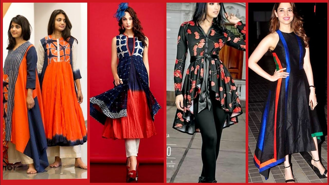 [VIDEO] - latest stylish Casual Party Wear  branded dress designs ideas for Summer And Winter 2019-2020 6