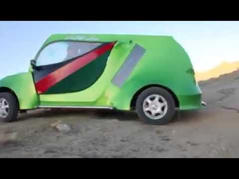 Afghanistan's full functional solar powered car