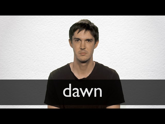 "Hindi Translation of ""dawn"" 