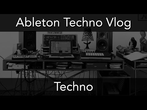 ABLETON TECHNO VLOG - Drumcode Style Part 2