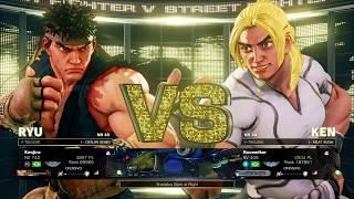 Destaque Seven Points SFV - Ryu vs Ken - Match 1