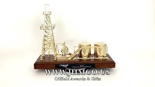 Oilfield Service Pump Jack Award JHM#42 Haliburton Oil