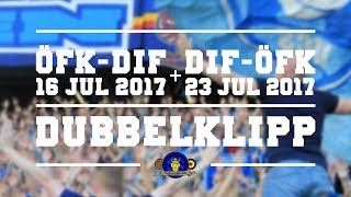 Djurgårdens IF - Östersunds FK - 16/7 + 23/7 2017 (Dubbelklipp)