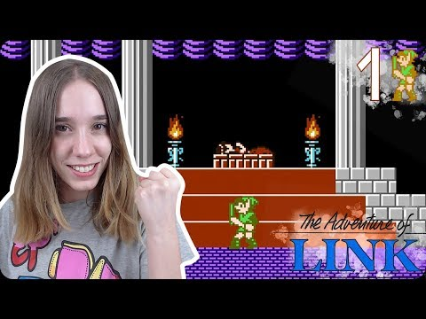 ¡ESTO ES EL INFIERNO!: The Legend of Zelda 2 (NES) The Adventure of Link Ep 1