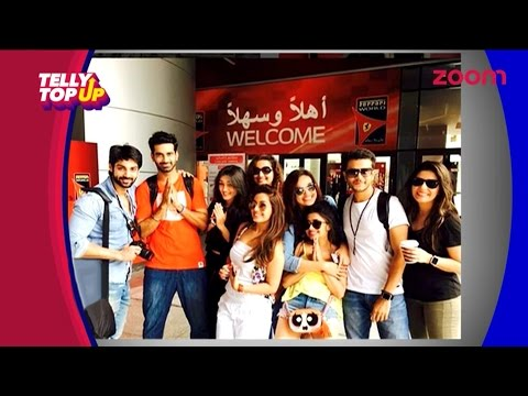 TV Stars Enjoy In Dubai