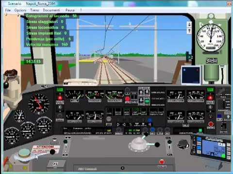 Simulatore Treno 4.05 Reg 2394 Fermata a Cisterna di Latina