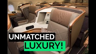 Singapore Airlines' AMAZING New 777-300ER BUSINESS CLASS REVIEW | SINGAPORE - FRANKFURT