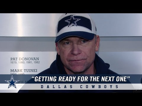 """Cowboys Offensive Coordinator Scott Linehan: """"Getting Ready for the Next One.""""   Dallas Cowboys 2018"""