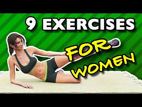 9 Exercises Women Should Do Every Week