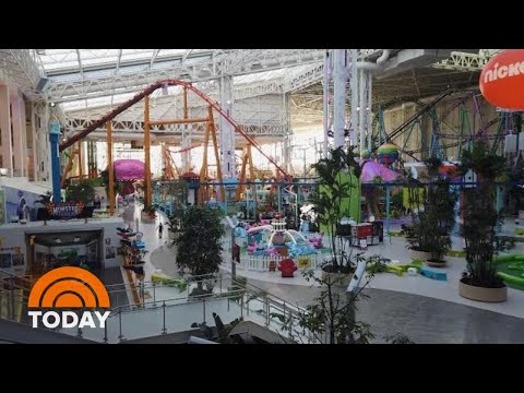 Visit The Dream Mall Where You Can Ski On Real Snow As Well As Shop | TODAY
