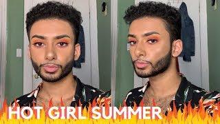 HOT GIRL SUMMER MAKEUP LOOK