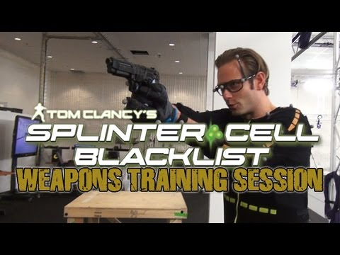 Splinter Cell: Blacklist Weapons Training with Sam Fisher (Eric Johnson)