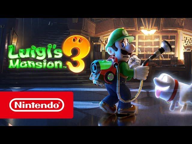 Luigi's Mansion 3 (видео)