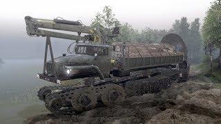 ''Spintires'' | Ural-5920 + GaZ HARP-RS | ! details in the description !