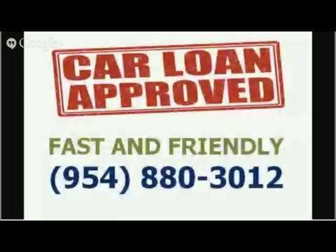 best deal auto loan Broward County 954-880-3012
