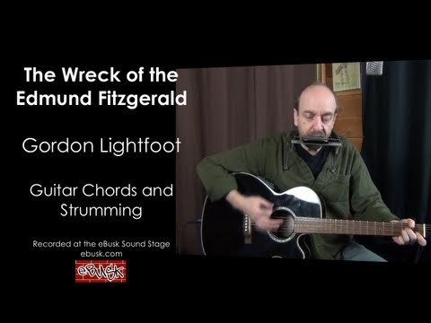 Wreck of the Edmund Fitzgerald Guitar Lesson