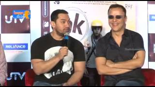 PK Movie DVD Launch With Amir khan And Raju Hirani Part 1
