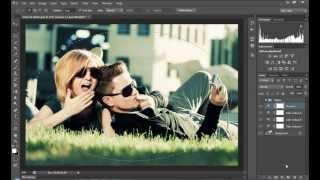 Tutorial Photoshop CS6 - Efeito Retrô com o Ajuste Color lookup