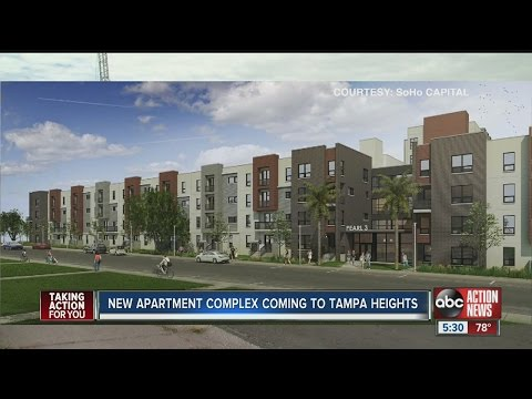New apartment complex coming to Tampa Heights