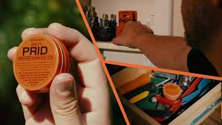 How to remove a splinter.  PRID Drawing Salve