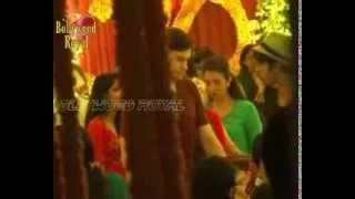 Salman Khan bids Ganpati farewell with family and ex girlfriends Sangita & Katrina- 1