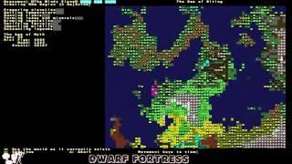 Dwarf Fortress учебник 42.XX #1 Как начать, что скачать и что делать.
