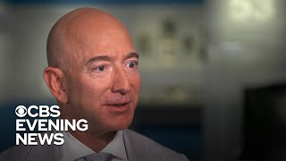 """Jeff Bezos on the """"price of admission"""" to space"""