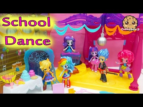 Thumbnail: Canterlot High School Dance My Little Pony Equestria Girls Minis Dolls MLP Rainbow Dash + More