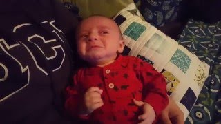 Imperial March Soothes Crying Baby