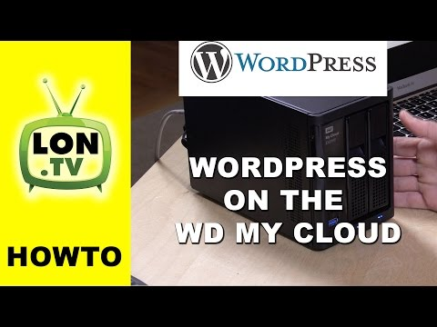 Installing and Running Wordpress on a WD My Cloud NAS device