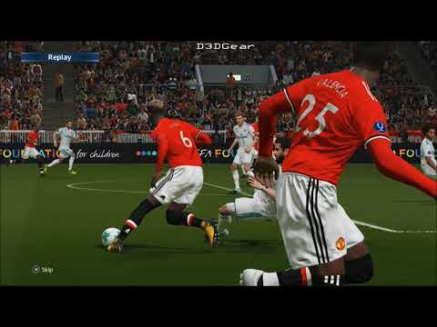 PES 2018 - Manchester United Vs Real Madrid
