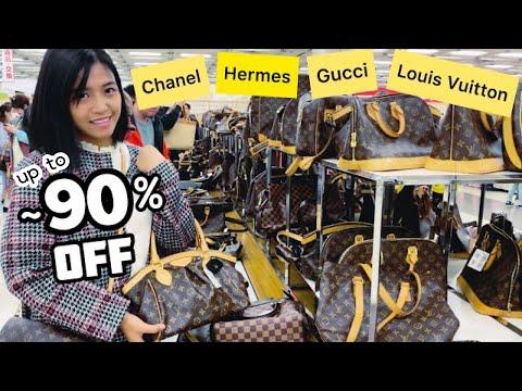 BIG SALE: LOUIS VUITTON, CHANEL, HERMES, GUCCI, PRADA | CHEAP DESIGNER BAGS CHARITY EVENT JAPAN