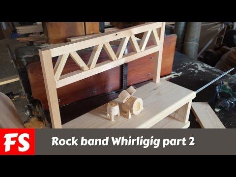 Make Whirligig Hubs & Propellers part 1 | Doovi