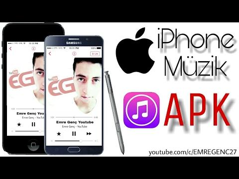 iPhone Müzik Çalar / Music Player Apk | 2017