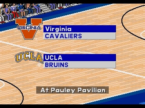 Coach K College Basketball | 1995 | Quarterfinals | Virginia vs UCLA | SGCTS
