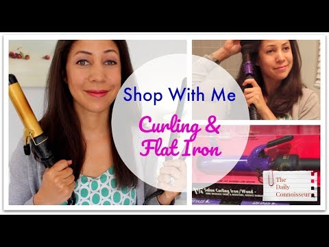 Shop with Me | New Curling Iron and Flat Iron